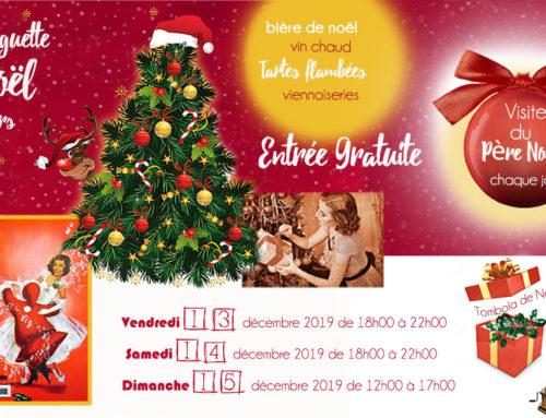 Guinguette de Noël du 13 au 15 décembre